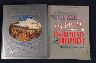 Civil War Shermans March And Medical Equipment