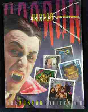 Horror Collection Postage Stamps And Horror Game