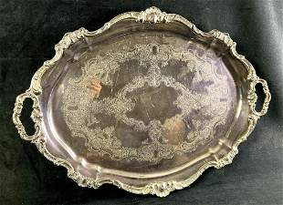 Original Gorham Silver Dinner Platter