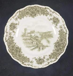 Seltmann Weiden Castle Porcelain Plate