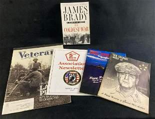 Korea and Vietnam Combat Veteran Magazine and Book Lot