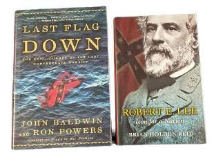 Civil War Books Last Flag Down Robert E Lee Hardcovers