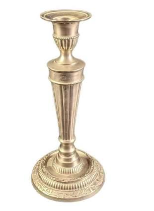 Vintage Style Pewter Candleholder