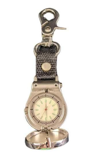 UPS CIrcle Of Honor Metal Pocket Watch Keychain