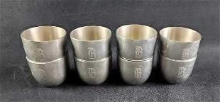 Jefferson Cup Shirley Handmade Pewter Goblets