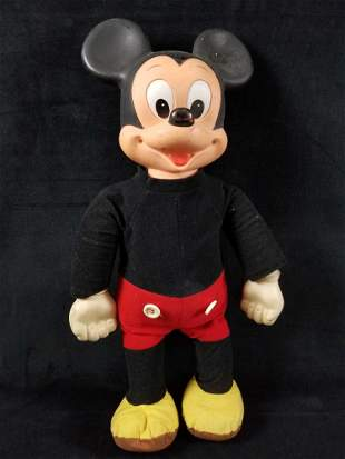 Vintage Disney Marching Mickey Mouse By Hasbro