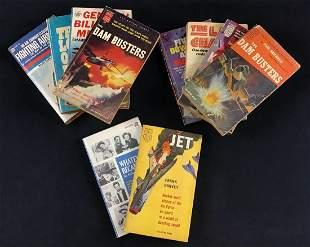 Vintage Military Air Combat Books Kamikaze Lot of 10