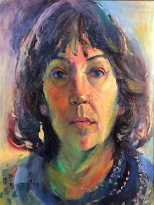 """Vintage 1984 Original Sighed Jeanne Schubert """" Self"""