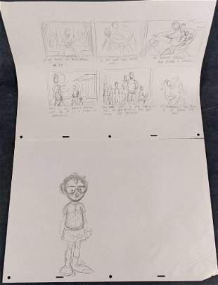Original Disney Artist Drawn Animation Production