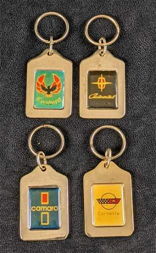 Epcot World Of Motion GM Car Keychains