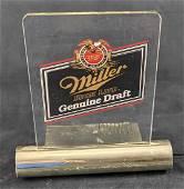 Miller High Life Genunie Draft Everbrite Sign