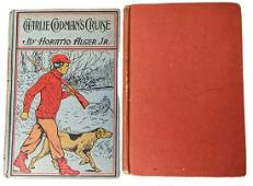 Two Classic Antique Hardcover Mark Twain Horatio Alger