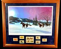 Moonlight Madness by Bob Peters Framed