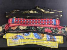 Four Assorted Accessory Scarves