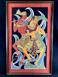 Sri Lankan Dancers Art