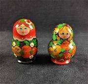 Wooden Russian Nesting Dolls
