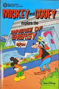 Disney Epcot Mickey Explore The Universe Of Energy