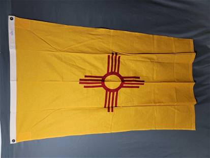New Mexico Cotton State Flag