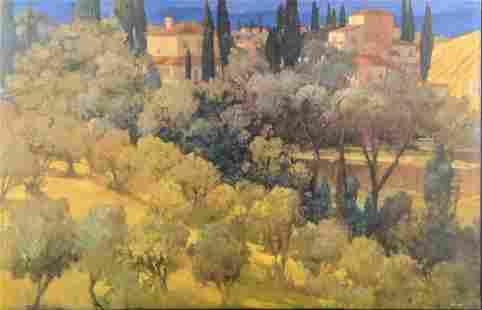 Giclee Canvas Florentine Landscape Philip Craig