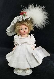 Madame Alexander Blue Hat Doll