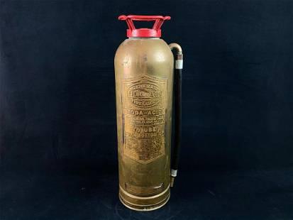 Antique General Quick Aid SA - 303 2.5 Gallon Brass