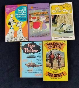 Vintage Disney Classic Paperbacks Lot Of Five