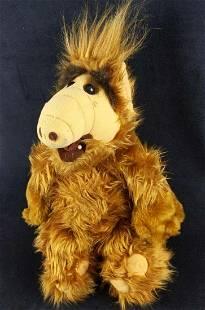 Vintage Coleco Wisecracking Talking Alf Plush Doll