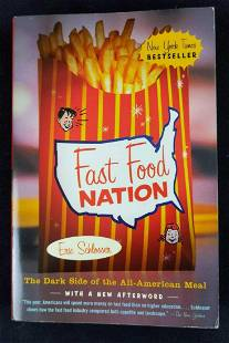 Fast Food Nation By Eric Schlosser Paperback