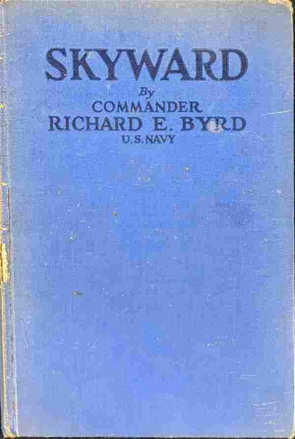 Vintage Skyward Hardcover By Commander Richard E Byrd