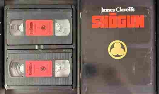 James Clavells Shogun VHS Gift Set
