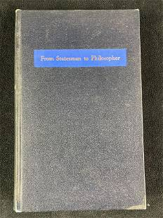 From Statesman to Philosopher by Walter McIntosh