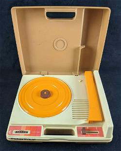 Vintage Record Player Fisher-Price 1978 Working