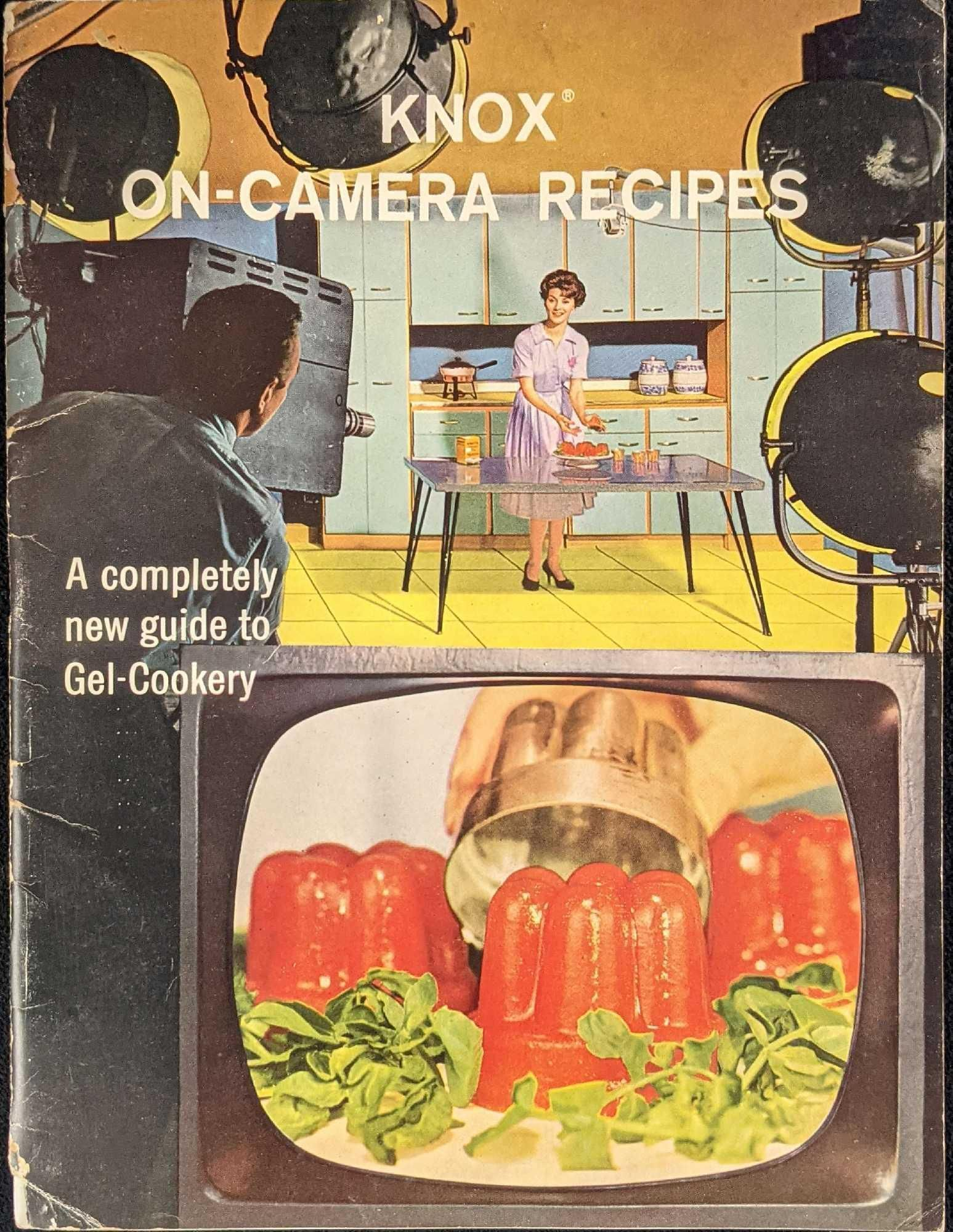 Knox On Camera Recipes Gel Cookery Cookbook