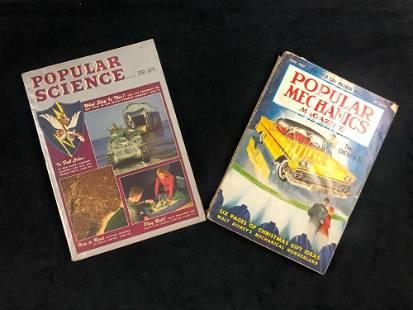 Popular Mechanics 1957 Science Magazine 1944 Walt