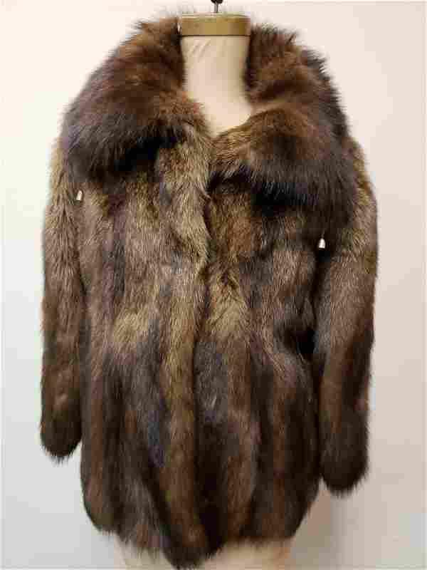 Mid Length Fisher Fur Coat