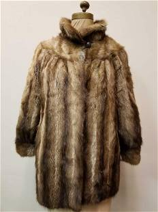 Romantic Fisher Fur Jacket