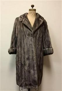 Lutetica Mink Fur Coat Jacket Vintage Fashion
