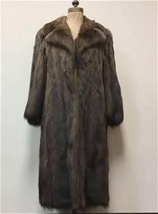 Fisher Fur Coat Jacket Vintage Fashion Paris