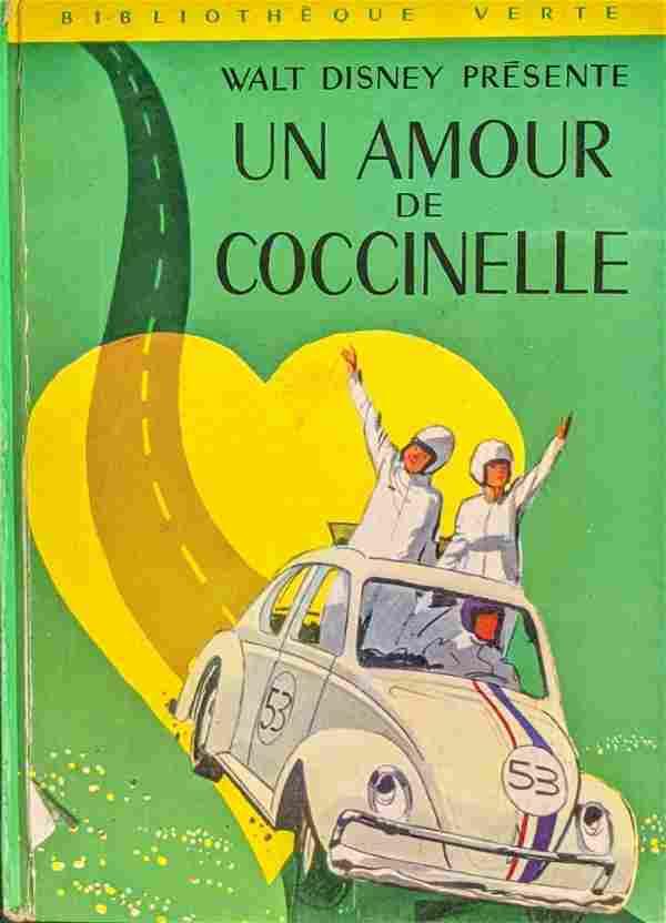 Vintage French Disney Love Bug Un Amour De Coccinelle