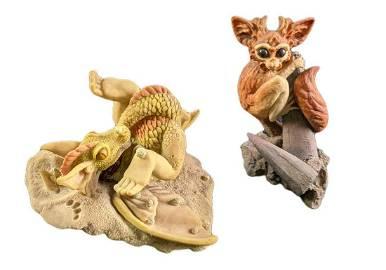 Enchantica Rattajack & Pepper Fantasy Figurines