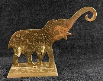 Brass Elephant Wall Hooks India
