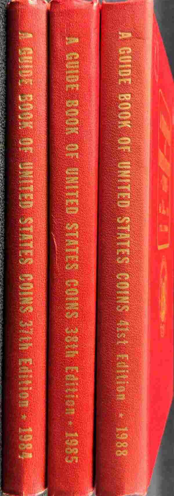 3 Guide Books Of United States Coins 84 85 88