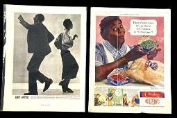 Set of (2) 1940's Advertisements