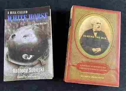 (2) Military History Books A Hill Called White Horse &