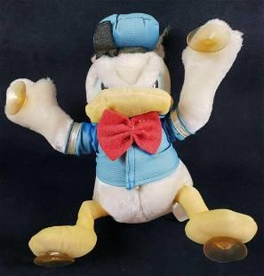 Disneyland Walt Disney World Donald Duck Stuffed Window