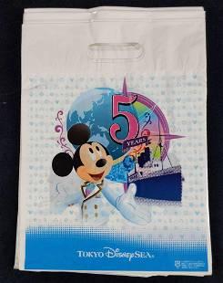 Tokyo Sea Disneyland 5th Anniversary Shopping Bags