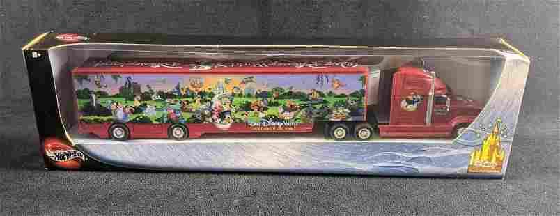 Walt Disney World Disneyland Hot Wheels Semi Truck