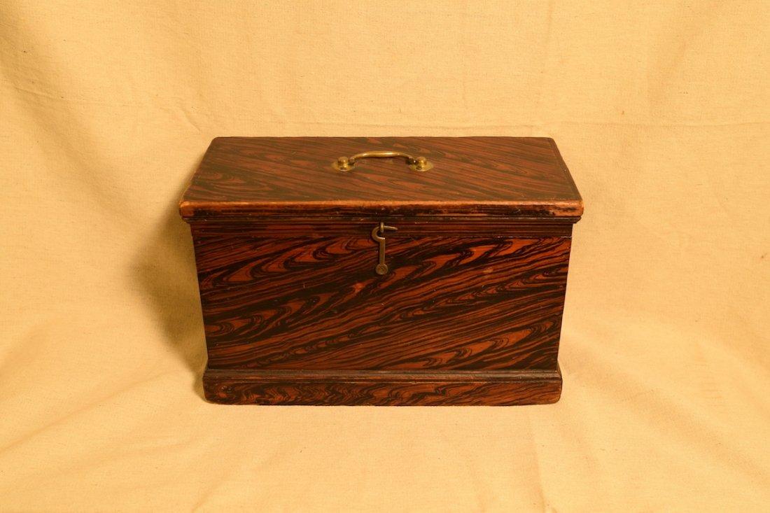 Grain Painted Document Box