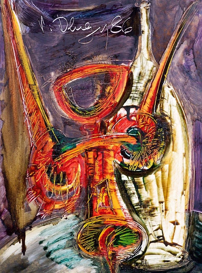 Dlugy, Vitaly (1934-1990) (Russia)   Nature morte