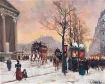Schaeffer, Henri-Alexis (1900-1975)(France) Boulevard